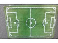 Small football rug
