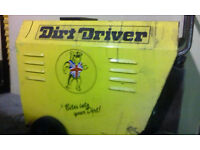 DIRT DRIVER COMPACT 3 HOT COLD & STEAM POWER PRESSURE WASHER JET WASH 3 PHASE INDUSTRIAL COMMERCIAL