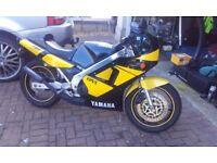Yamaha TZR250 classic 2 stroke, new MOT