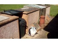 Concrete Coal Bunkers, (3 available)