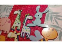 WOODEN ANIMAL WALL DECORS