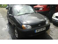 2001 Ford Fiesta mk5 1.3 Flight 5dr panther black manual BREAKING FOR SPARES
