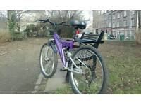 MOUNTAIN BIKE IN GOOD CONDITION AT CITY CENTRE. GOOD PRICE.NEGOTIABLE.