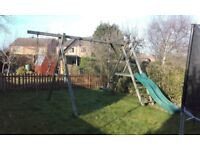 Climbing Frame with swings