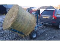 Quad bike bale trailer