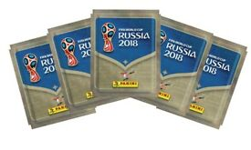 150 packs of world cup 2018 stickers