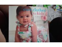 Cute clothes for kids, Rob Merrett. Book of patterns/templates.