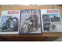 3 motorcycle books