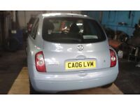 NISSAN MICRA BLUE, 3 DOOR, 10 YEAR OLD, S/WALES