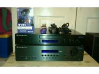 Cambridge Audio topaz amplifier and CD player