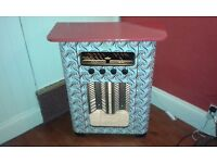 Vintage radio case/CD rack
