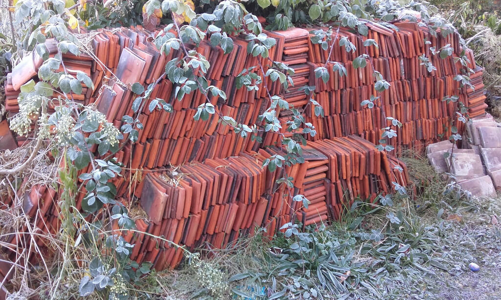 Assorted roof tiles - FREE