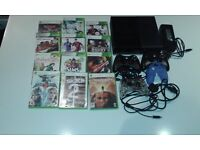 Xbox 360 Console (slim) bundle including 12 games