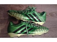 Adidas size 5.5 boots.