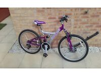 "Girls/womens 24"" wheel bike"