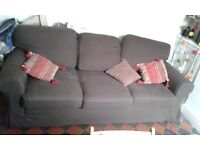 Sofa bed - three seater - originally £800 from Ikea