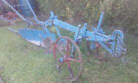 Vintage horse drawn plough