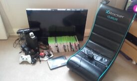 """32"""" t.v and xbox 360 bundle"""