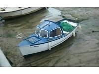 I.p. boat 16ft. seagull motor