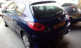 PEUGEOT 206 LONG MOT MARCH 2017 PX WELCOME