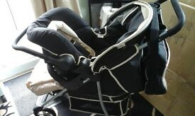 HAUCK PUSHCHAIR & CAR SEAT, FROM BIRTH