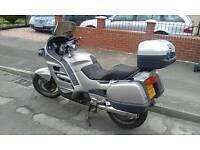 Honda pan European tourer motorbike