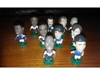 Collectable footy star mini football figures