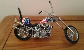 Franklin mint Easy Rider Model Chopper