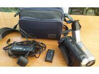 Sony Handycam vison 80x Digital Zoom. steady shot, nightshot .