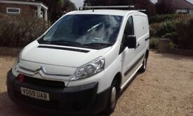 FOR SALE 59 PLATE CITROEN DISPATCH 1.6 DIESEL PANEL VAN