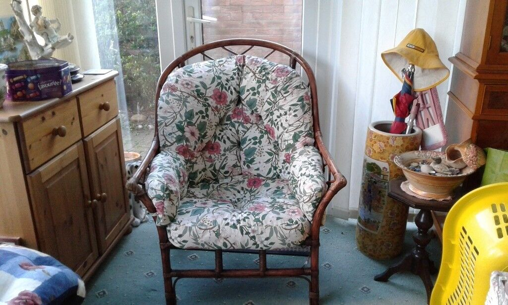 Conservatory Chair with cushions