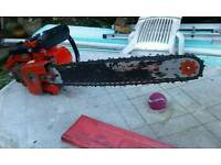 Vintage Terry Homelite chainsaw