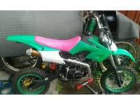 125cc pit bike pitbike Akuma Assassin read ad