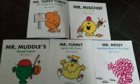 Mr Men book bundle