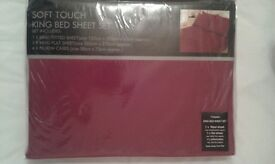 Bed Sheet Set (King Size)