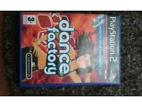 reduced...PlayStation 2 dancemat and game