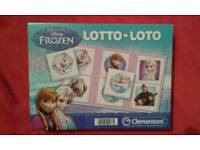 Frozen Lotto game, age 3+