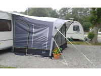 AWNING FOR CARAVAN - ONLY 3 MONTHS OLD