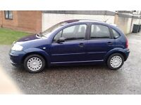 Citroen c3 DESIRE 2005 VERY LOW MILEAGE 59850. 6 MONTHS MOT..NEW BATTERY