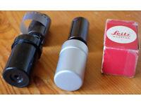 Pair of Leitz Leica reloadable cassettes