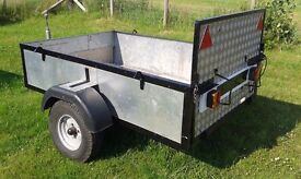 Trailer ideal for quad mobility scooter camping carboots