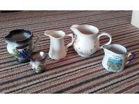 Selection of jugs