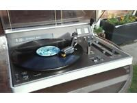 Philips 907 retro stereo system with speakers