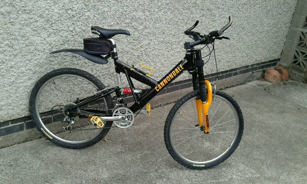 975c5b3e90e Cannondale super v1000 mountain bike | in Hucknall ...