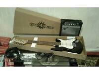 Electric guitar brand new, full package, 3/4 ,