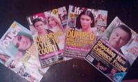 Tabloid magazines for trade