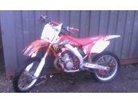 2002 HONDA CR250, 2 STROKE