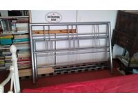 Double bed frame for sale, no mattress. 2 damaged boards. Buyer collects ,