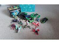 Ben 10 toys / DVD set