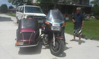 1985 Gold Wing with California sidecar